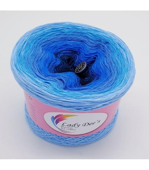 Oase in Blau (Оазис в голубой) - 3 нитевидные градиента пряжи - Фото 2