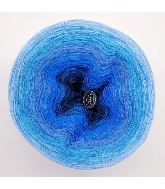 Oase in Blau (Оазис в голубой) - 3 нитевидные градиента пряжи - Фото 3