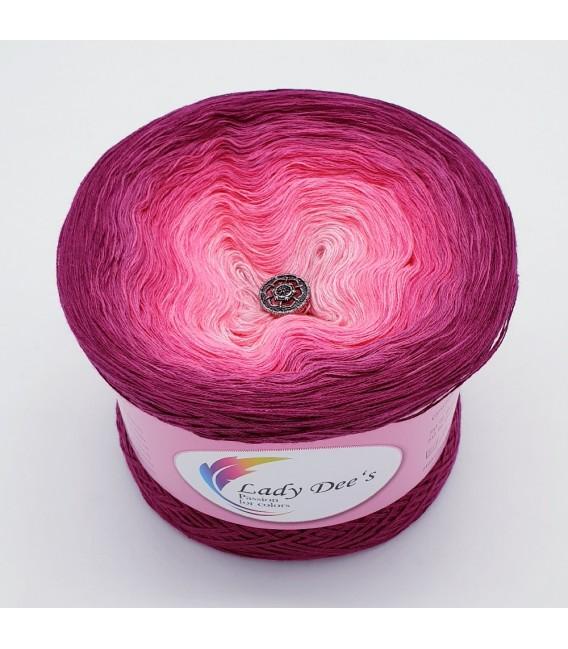 Oase in Pink - Farbverlaufsgarn 3-fädig - Bild 2