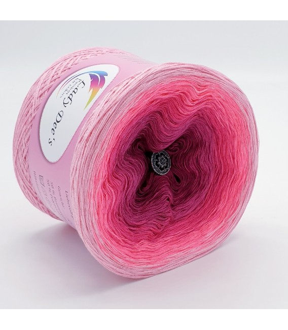 Oase in Pink - Farbverlaufsgarn 3-fädig - Bild 7