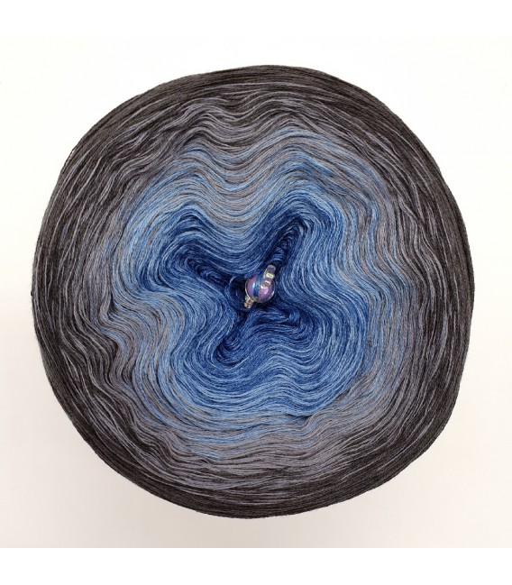Oase einer Sternennacht (Oasis of a starry night) - 4 ply gradient yarn - image 3