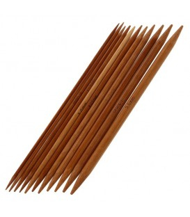 Набор из 11 бамбуковых спиц длиной - Фото 1