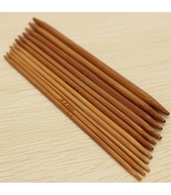 11-piece bamboo knitting needle set - image 4