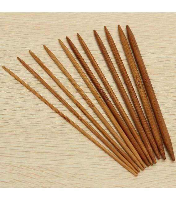ensemble d'aiguilles à tricoter en bambou de 11 pièces - Photo 6