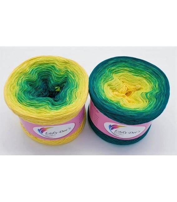 Limonen - Farbverlaufsgarn 4-fädig - Bild 1