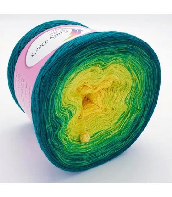 Limonen - Farbverlaufsgarn 4-fädig - Bild 4