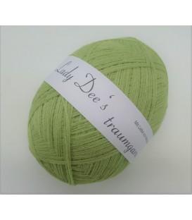 High bulk acrylic yarn - Lime green - image 1