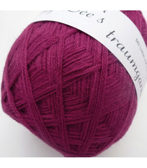 High bulk acrylic yarn - Ruby - image 2