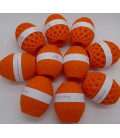 1kg High bulk acrylic yarn - Blood orange - 10 balls