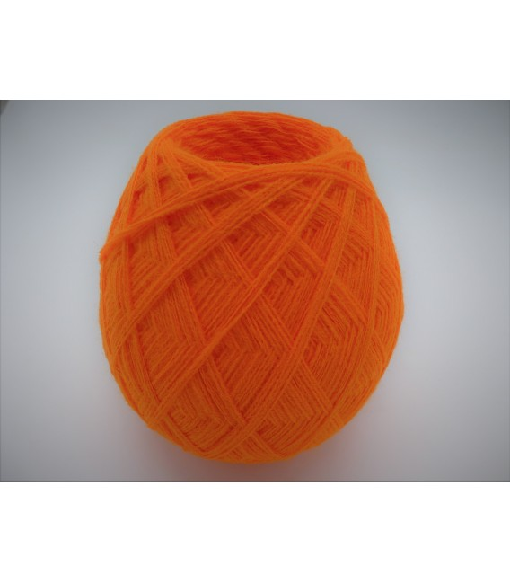 1kg High bulk acrylic yarn - Blood orange - 10 balls - image 7