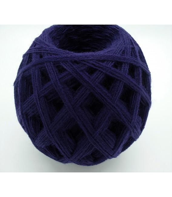 1kg High bulk acrylic yarn - purple - 10 balls - image 2