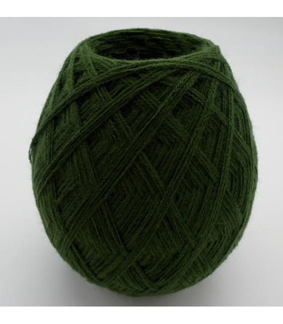 1kg High bulk acrylic yarn - fir green - 10 balls - image 3