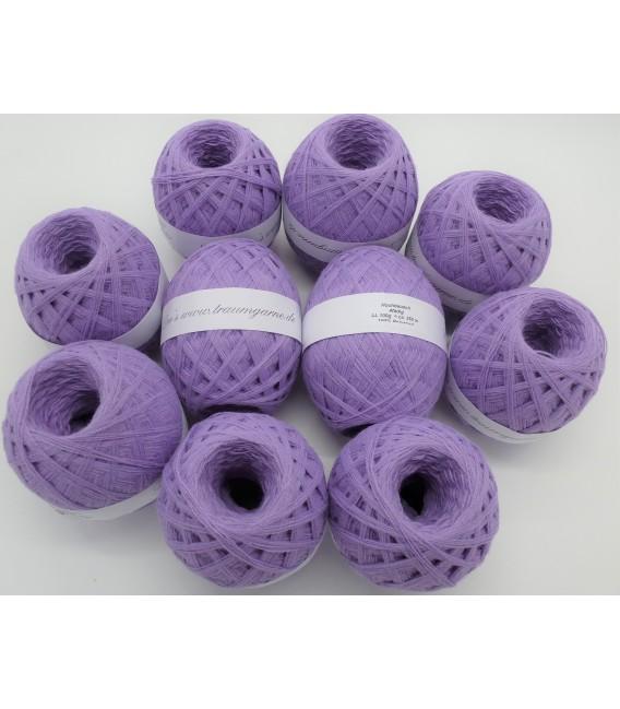 1kg High bulk acrylic yarn - lavender - 10 balls - image 1