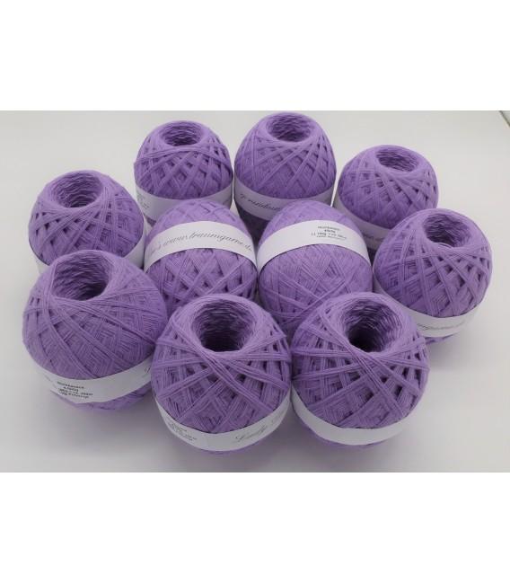 1kg High bulk acrylic yarn - lavender - 10 balls - image 2