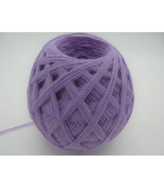 1kg High bulk acrylic yarn - lavender - 10 balls - image 3