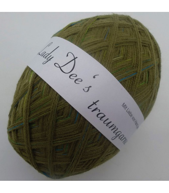1kg High bulk acrylic yarn - Lead - 10 balls - image 3