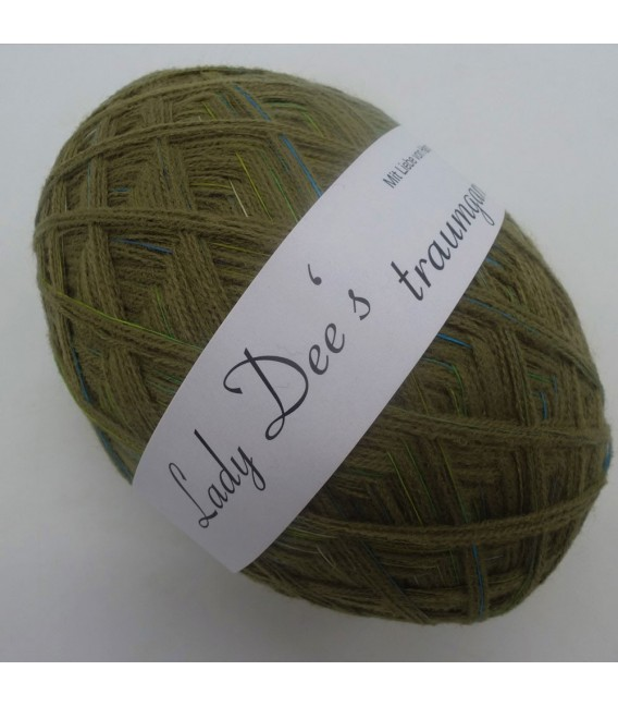 1kg High bulk acrylic yarn - Lead - 10 balls - image 4