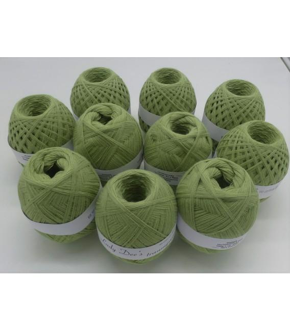 1kg High bulk acrylic yarn - pistachio - 10 balls - image 1