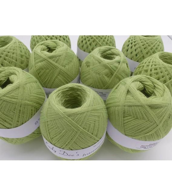 1kg High bulk acrylic yarn - pistachio - 10 balls - image 2