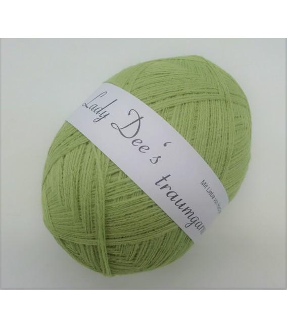 1kg High bulk acrylic yarn - pistachio - 10 balls - image 3