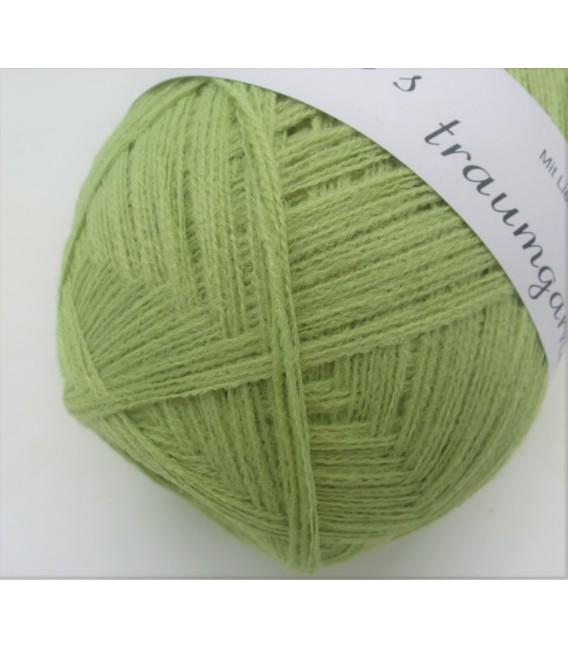 1kg High bulk acrylic yarn - pistachio - 10 balls - image 4