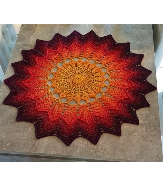 Hippie Lady - Sunshine - Farbverlaufsgarn 4-fädig - Bild 9