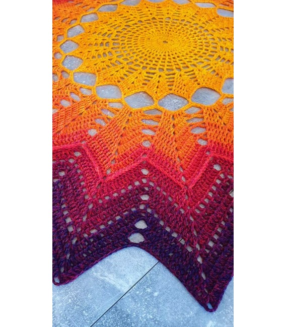 Hippie Lady - Sunshine - Farbverlaufsgarn 4-fädig - Bild 11
