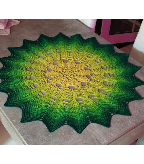 Limonen (Limes) - 4 ply gradient yarn - image 8