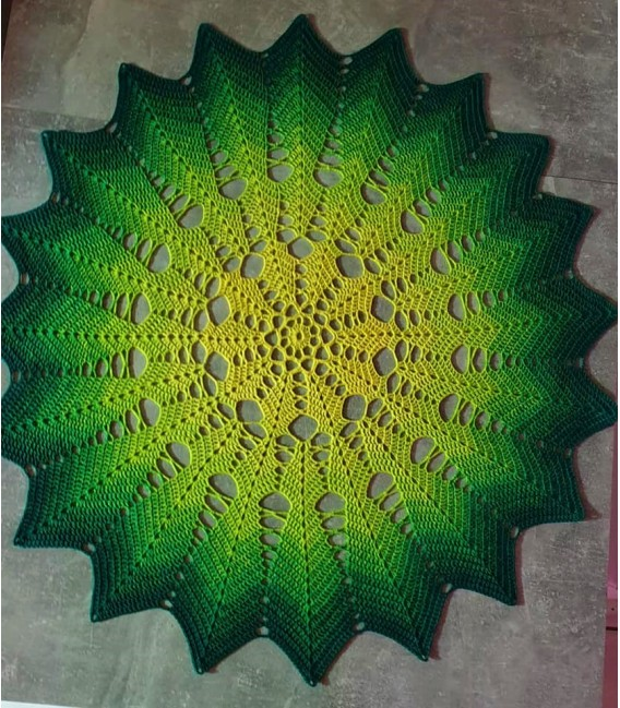 Limonen (Limes) - 4 ply gradient yarn - image 9