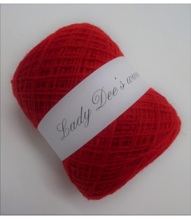 wool-acrylic mixture - tomato red - 50g