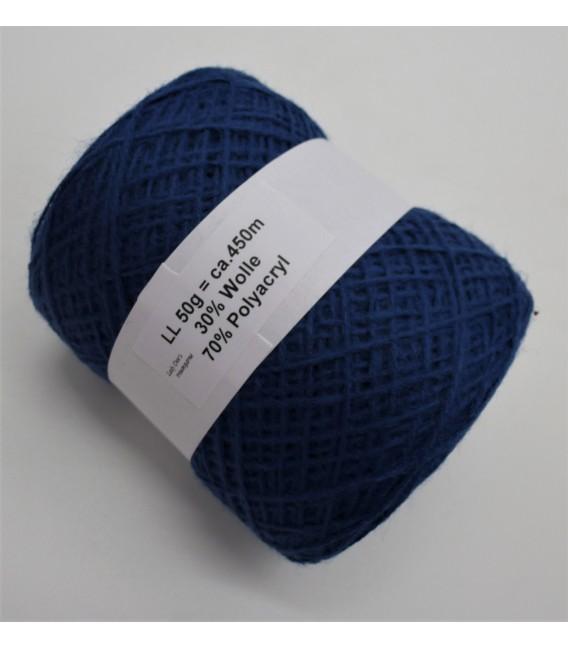 wool-acrylic mixture - indigo - 50g