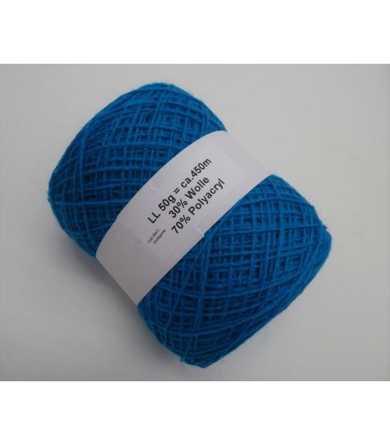 wool-acrylic mixture - sapphire - 50g