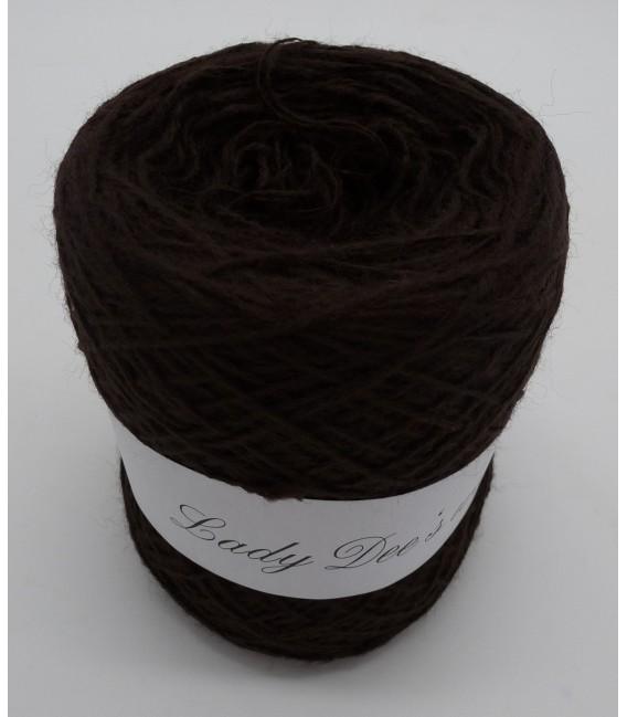 wool-acrylic mixture - chocolate - 50g