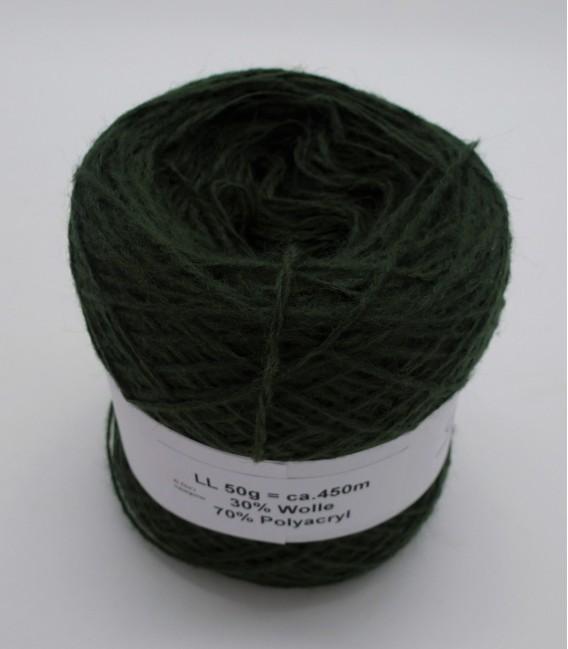 Woll-Acryl-Gemisch - Moos - 50g
