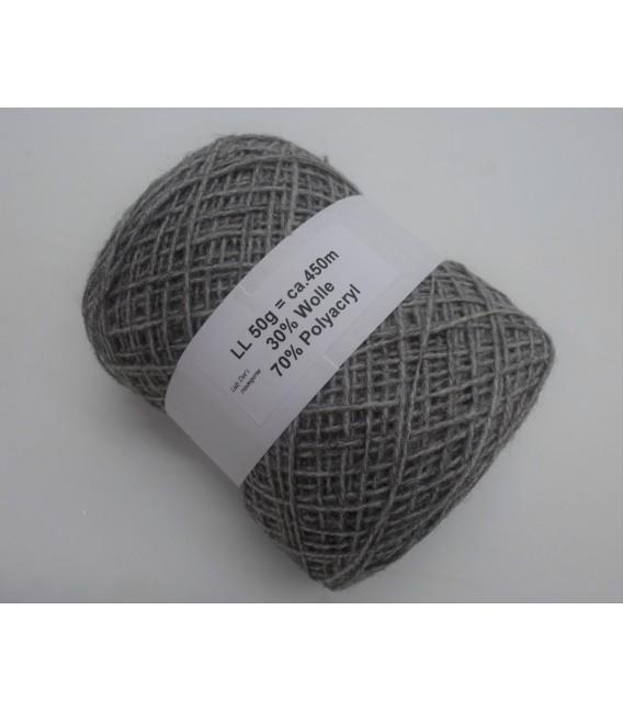 wool-acrylic mixture - light gray - 50g