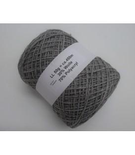 Woll-Acryl-Gemisch - Hellgrau - 50g