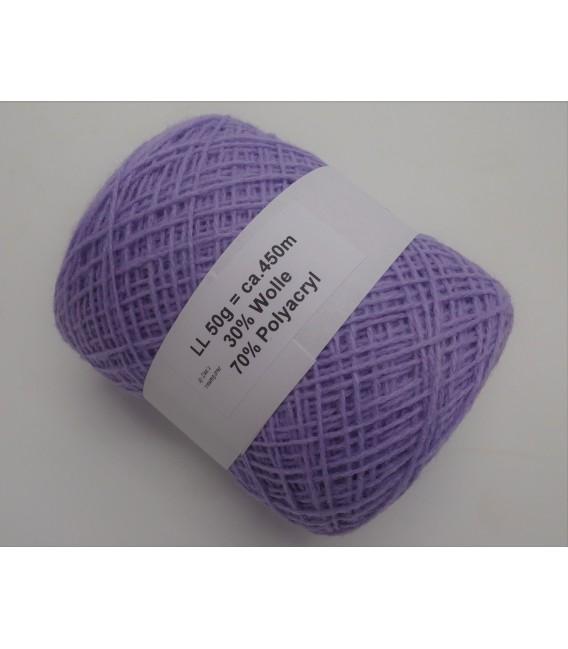 wool-acrylic mixture - lilac - 50g
