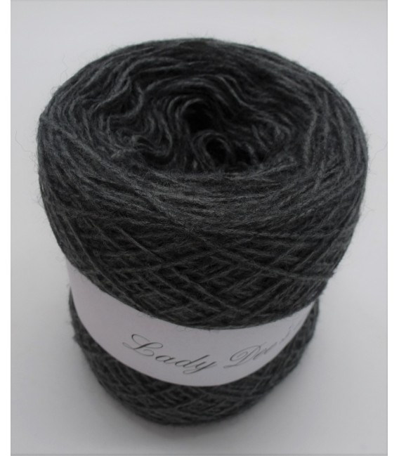 wool-acrylic mixture - medium gray - 50g