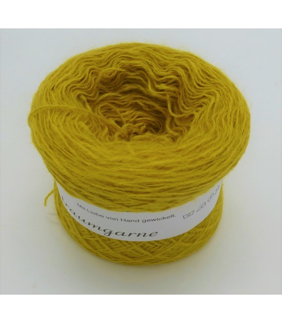 wool-acrylic mixture - turmeric - 50g
