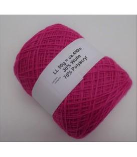 wool-acrylic mixture - fuchsia - 50g