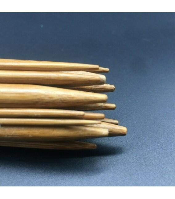 Bambus Rundstricknadeln Multicolor - 18-teiliges Set - Bild 4