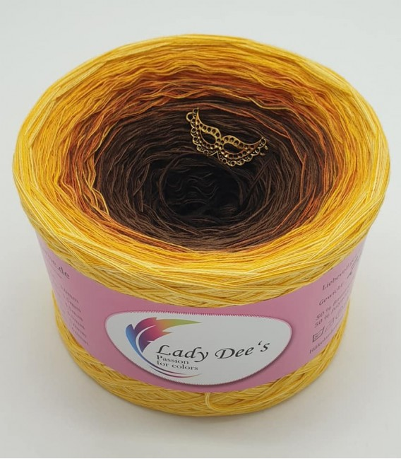 Sonnenblume (Sunflower) - 4 ply gradient yarn - image 2