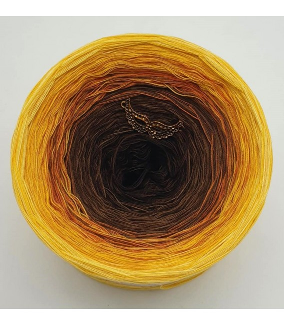 Sonnenblume (Sunflower) - 4 ply gradient yarn - image 3