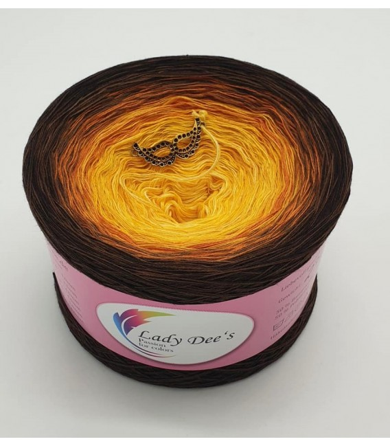 Sonnenblume (Sunflower) - 4 ply gradient yarn - image 5