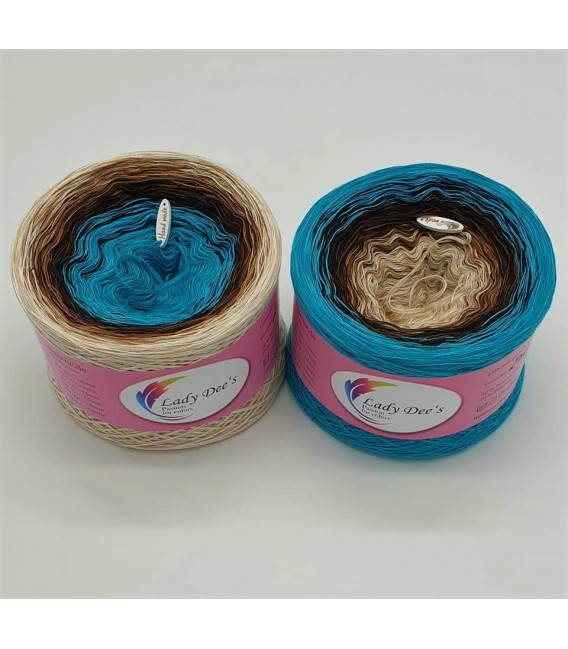Seelenzauber (Soul magic) - 4 ply gradient yarn - image 1