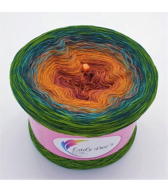 Oase der Wunder (Oasis of wonder) - 4 ply gradient yarn - image 2