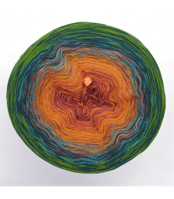 Oase der Wunder (Oasis of wonder) - 4 ply gradient yarn - image 3