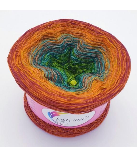 Oase der Wunder (Oasis of wonder) - 4 ply gradient yarn - image 5