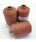 Glitter yarn - glitter thread Honey-Kupfer - pack