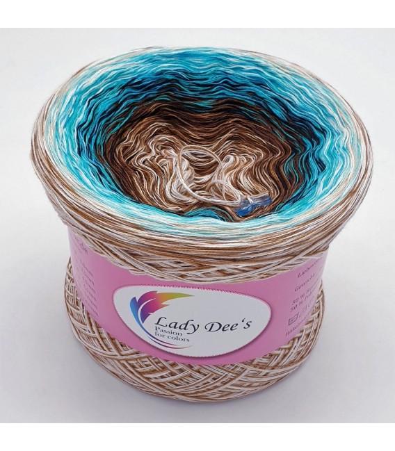 Hippie Lady - Agatha - 4 ply gradient yarn - image 1